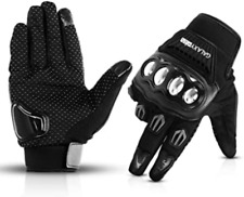 Galaxyman Touchscreen Full Finger Gloves for Motorcycle Riding Hiking Work Large