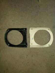 1964 1965 1966 Ford Mustang Headlight Lamp Bezel Door Extensions RH LH Ford Pair