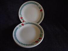 """(4) Corelle Farm Fresh Apples 6 3/4"""" lunch/desert plates"""