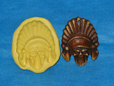 Skull Silicone Mold #39 For Jewelry Chocolate Candy Resin Fimo Soap Candle Craft