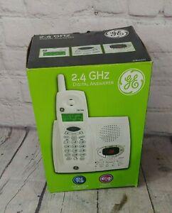 GE Cordless Digital Answering Machine Phone System 27851GE1-B NEW OPEN BOX