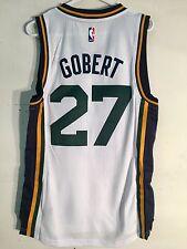 Adidas Swingman 2015-16 NBA Jersey Utah Jazz Rudy Gobert White sz L