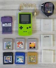 Game Boy Gameboy Color XPLODER Lampe Câble d'alimentation jeux par exemple Pokemon liasse