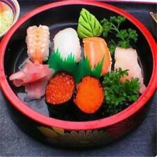 Plastic Sushi Mat Decorative Leaves Eco-Friendly Japanese Food Sushi Grass LI