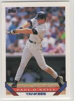 1993 Topps Baseball New York Yankees Team Set Derek Jeter Rookie card