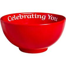 You are special today-Celebrating You Red Bowl in Gift Box, Brand-new!