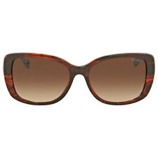 Ralph Lauren Striated Brown Sunglasses