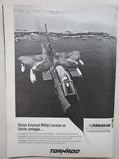 10/1978 PUB AERITALIA MBB BRITISH AEROSPACE PANAVIA TORNADO ORIGINAL ITALIAN AD