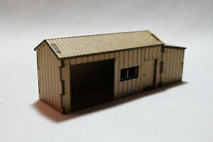 OO Gauge Model Railway MDF Laser Cut Lineside Hut Coal Shed Yard Building