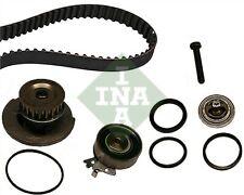 OPEL MERIVA A 1.6 Timing Belt & Water Pump Kit 03 to 10 Z16SE Set INA 1334078