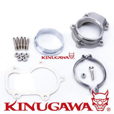 "Kinugawa Turbo Dump Pipe Flange 5 Bolt to 3"" V-band Fit Ford XR6 FALCON BA/BF"