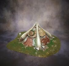 Wargame Scenery Terrain - Hut - Age of Sigmar/Warhammer/Frostgrave/Painted