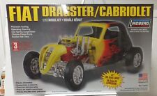 Fiat Dragster/Cabriolet New In Box Lindberg 1/12 Scale
