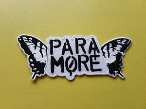 Paramore Patch Embroidered Iron On Or Sew On Badge