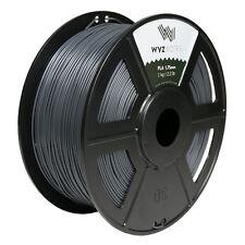 Grey PLA 1.75mm WYZworks 3D Printer Premium Filament 1kg/2.2lb