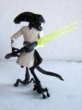 EKKIT - XENOMORPH JEDI - Custom Star Wars/Aliens 3.75 inch Figure