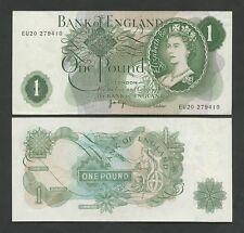 BANQUE DU ANGLETERRE - QEII Page 1970-8 B322 Bon EF Billets de banque )