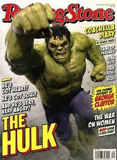 NEW Rolling Stone Magazine The Incredible Hulk 5/7/15 2015 No Label USA Edition
