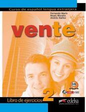 Vente 2 libro de ejercicios. NUEVO. Nacional URGENTE/Internac. económico. ESPAÑO