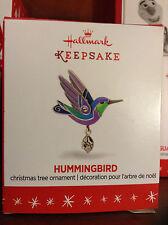 "NEW~Miniature Hummingbird~Hallmark Ornament 2016 Beauty of Birds Mini~1.25"""