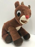 "Rudolph The Red Nosed Reindeer Plush Stuffed Animal 12"" Long"