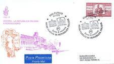 Repubblica Italiana 2003 FDC Venetia Club Mostra Filatelica a Montecitorio (E)