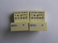 (50) .1uF 250VAC 250V 10% X2 Safety Thomson metalized polyester film capacitors