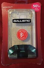 Ballistic AGF Jewel Case For Samsung Galaxy S5 - Gold Glitter Clear - New