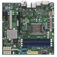 Supermicro X11SAE-M Server Board, mATX, LGA1151, C236, 4 DIMM, 2x GbE (i210AT +
