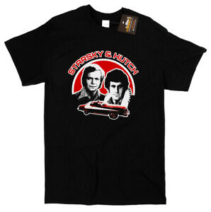 Starsky and Hutch Inspired T-shirt - Retro Classic 1970's TV Show - Mens Tees