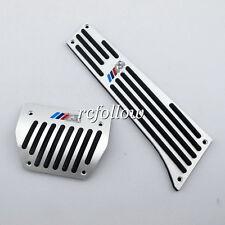 2 Pcs Pedal Plate Fit For BMW F25 F26 F15 F16 E84 E83 E53 E70 E71 E72 E89