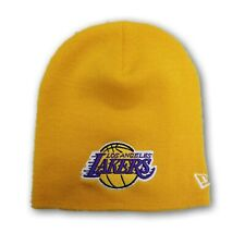 Los Angeles Lakers New ERA NBA Yellow Adult Unisex Beanie OSFM New With Tags