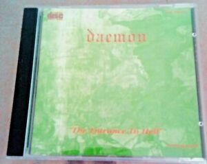 JOHN DU CANN'S DAEMON - THE ENTRANCE TO HELL CD (ATOMIC ROOSTER HARD STUFF) RARE