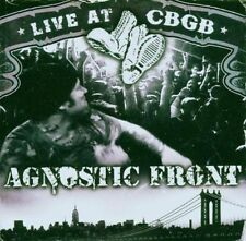 AGNOSTIC FRONT - LIVE AT CBGB CD + DVD (LIVE 2004) DUAL DISC / NEW YORK HARDCORE