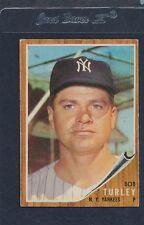 1962 Topps #589 Bob Turley Yankees VG/EX 62T589-42916-1