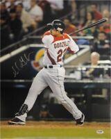 Adrian Gonzalez Hand Signed Autographed 16x20 Photo Dodgers WBC Swing PSA/DNA