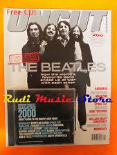 rivista UNCUT 42/2000 +CD Morrissey Beatles Radiohead Bob Dylan John Torturro