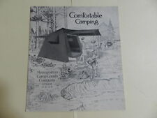 VINTAGE 1928 CAMP GOODS COMPANY CATALOG- VINTAGE OUTDOORS CATALOG- CAMPING