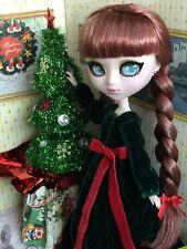 """Custom Ooak Repaint Pullip Groove """"Noel� Christmas Doll By: Stargirl23"""