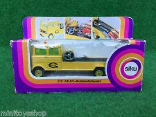Siku V335 / V319 no. 2211 ADAC Auslandsdienst Straßendienstwagen ovp
