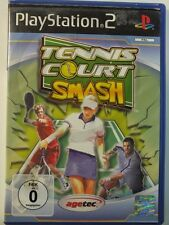 PLAYSTATION PS2 JEU Tennis Cour Smash, utilisé mais BIEN
