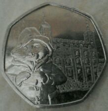 2019 Paddington Bear at the tower of London 50p ~ CIRCULATED
