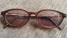 Vintage Titmus T704 Brn Z87-2 Safety Eyeglasses Full Plastic Frame 51â–«18 145 Euc