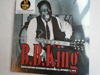 BB KING United Western Broadcast 1972 UK double LP new mint sealed vinyl 180g