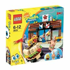 Lego 3833 Spongebob Krusty Krab Aventures New in Retail Box (Retired)