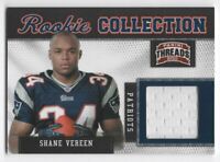 2011 PANINI THREADS ROOKIE COLLECTION MATERIALS #29 SHANE VEREEN — NM-MT (8)+