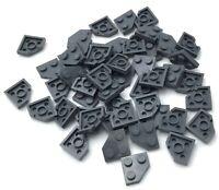 Lego Lot of 100 Light Bluish Gray Technic Bricks 1 x 2 with Axle Hole Pieces