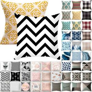 Outdoor Garden Breathable Outdoor Printed Cushions Covers Designer Pillow Decor