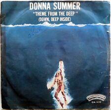 DISCO VINILE 45 GIRI DONNA SUMMER THEME FROM DEEP ITALY 1977