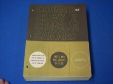 1969 CHEVROLET PARTS CATALOG Camaro Chevelle Chevy II ***ORIGINAL GM ***